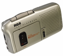 RCA RP3538R Micro-Cassette Recorder Voice Recorder - click to enlarge