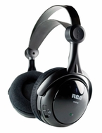 RCA WHP141B 900MHZ Wireless Stereo Headphones - click to enlarge