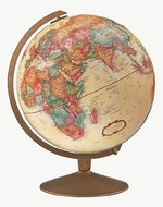 Replogle Globes Franklin Globe, Antique Ocean, 12-Inch Diameter - click to enlarge