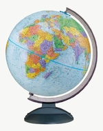 Replogle Globes Traveler Globe, 12-Inch, Blue - click to enlarge
