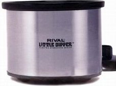 Rival 32041C Little Dipper Slow Cooker