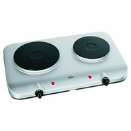 Rival BD275 Stainless Steel Double Burner Hot Plate - click to enlarge