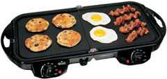Rival GRF405 Fold N' Store Electric Griddle