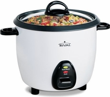 Rival RC161 16 Cup Rice Cooker w/Steaming Basket - click to enlarge