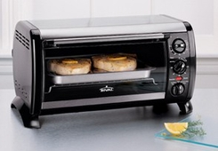 Rival TO404 4 Slice Toaster Oven - click to enlarge