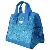 Sachi 34-033 Blue Water Style Insulated Lunch Bag - click to enlarge