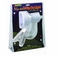 Satco Products SF76/227 Flexible Goose Neck Clip on Lamp with Coiled Cord, White