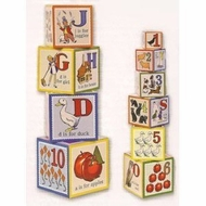 Schylling ABC Classic Nesting Cubes - click to enlarge