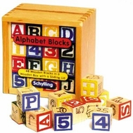 Schylling Alphabet Wooden Blocks - click to enlarge
