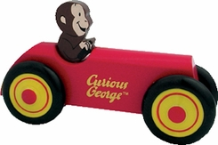 Schylling Curious George Car - click to enlarge