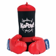 Schylling Punching Bag and Gloves - click to enlarge