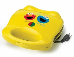 Sesame Street Waffle Maker with Elmo and Cookie Monster - click to enlarge