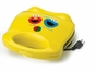 Sesame Street Waffle Maker with Elmo and Cookie Monster