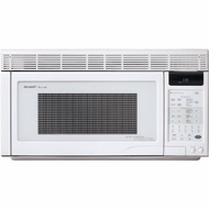 Sharp R1871 Over-the-Range Microwave; 1.1 CF White - click to enlarge