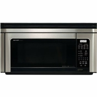 Sharp R1880LS Over-the-Range Microwave Stainless Steel - click to enlarge