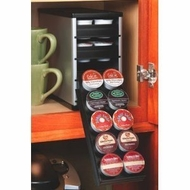 Spice Stack 40100 Coffeestack 40 K Cup Rack Black Silver - click to enlarge