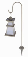 Brinkmann 822-0457-2 Provincial Metal Solar Light Set Taupe- Set of 2 Lights - click to enlarge