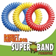 Superband PREMIUM Insect Repellent Bracelet 10 pack - click to enlarge