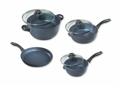 Swiss Diamond 6007 7 Piece Cookware Set - click to enlarge