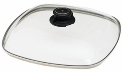 Swiss Diamond S228 Square Glass Lid, 11 x 11'' - click to enlarge