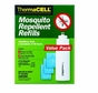 ThermaCELL R-4 Mosquito Repellent Refill - 4 Cartidges and 12 Mats