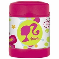 Thermos Barbie Funtainer Food Jar - click to enlarge