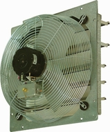 TPI CE 10-DS 10'' Shutter Mounted Direct Drive Exhaust Fan - click to enlarge