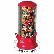Triple Candy/Gumballs/Peanuts Dispenser with 3 Separate Compartments - click to enlarge