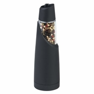 Trudeau 0716901 Graviti Battery-Operated Pepper Mill, Black - click to enlarge