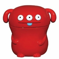 UglyDoll Ceramic Cookie Jar Peaco Red - click to enlarge