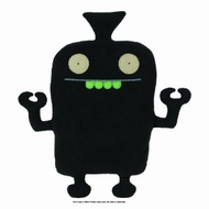 UglyDoll Jumbo Black Uglybot - click to enlarge