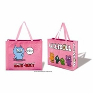 UglyDoll Pink Ice-Bat Shopping Bag - click to enlarge