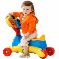V Tech - 3 - In - 1 Smart Wheels - click to enlarge