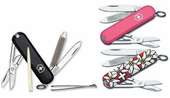 Victorinox 59403 Classic Swiss Army Knife 3 Pack - click to enlarge