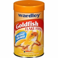 Wardley Goldfish Flakes 6.8 oz - click to enlarge