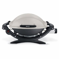 Weber 386002 Q 100 Portable Propane Gas Grill - click to enlarge