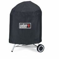 Weber 7453 Premium Full Length Kettle Cover, for 22.5 Inch Charcoal Grills - click to enlarge