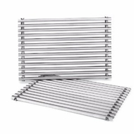 Weber 7527 Stainless Steel Replacement Grates - click to enlarge