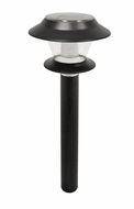 Brinkmann 822-0606 Black Wedge Solar Lights- Set of 8 Lights - click to enlarge