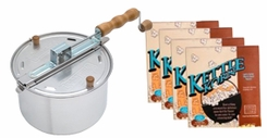 Whirley-Pop 25008A Stovetop Popper w/Kettle Corn - click to enlarge