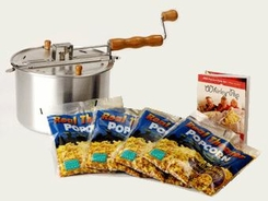Whirley Pop 25102 Stovetop Popcorn Popper Theater Style Set - click to enlarge