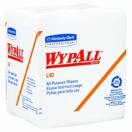 Wypall L40 Wipers - White, Pop-Up Box, 16.4'' X 9.8''- 9 Box Kit - click to enlarge