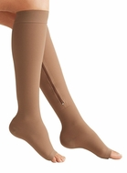 Zipper Compression Socks Beige XL - click to enlarge