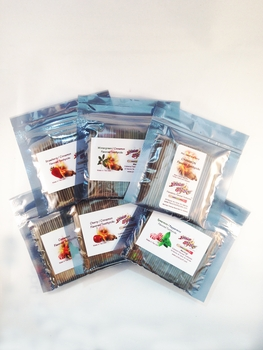 6 Flavored Toothpick Sampler Pack Bulk Bags