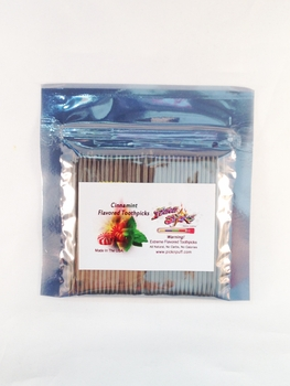 Cinnamint Toothpicks 100 qty Bulk Bag
