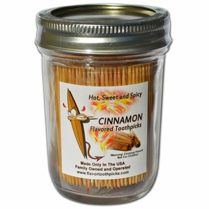 Cinnamon Flavored 400 Qty Decorative & Sealable Glass Jar