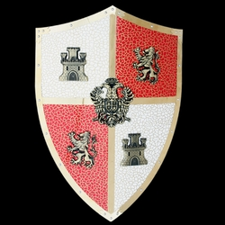 Carlos V Knights Crusader Shield