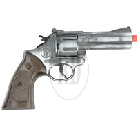 Police 12 Shot Cap Gun Antique Silver