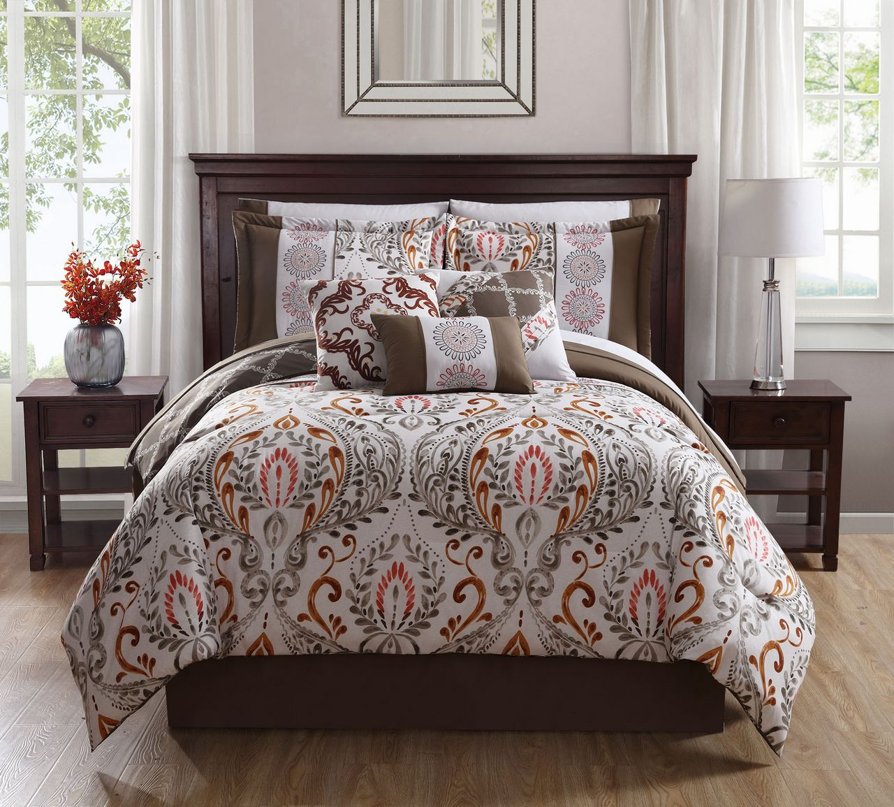 animal set p comforter sets bedding monochromatic print ivory coast