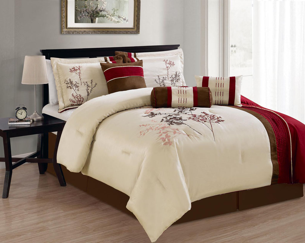 Piece Queen Elk Bed In A Bag With Sheet Sets Bed